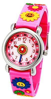 Children Watch 3D Silicone Band Cartoon Cute Kids Time Teacher Gift for Little Girls and Boys from RUIWATCHWORLD