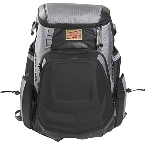 Rawlings R1000 Gold Glove Series Equipment Bag, Gray with Black ()