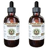 Cinnamon Alcohol-FREE Liquid Extract, Cinnamon (Cinnamomum Verum) Dried Bark Glycerite Hawaii Pharm Natural Herbal Supplement 2x4 oz