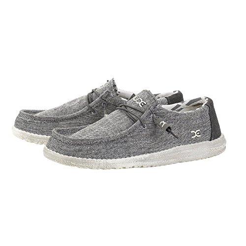 Shoes Grigio Uomo Grigio Tessuto Wally Dude 0RxwOSx
