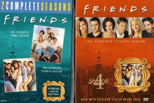 Friends: The Complete Third and Fourth Seasons (Friends Dvd Season 1)