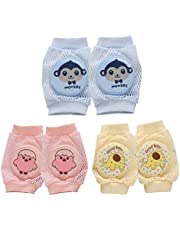 TOYMYTOY Infant Toddler Kneepads Baby Knee Pad Crawling Safety Protector,3 Pairs