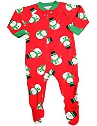 Baby Boys Long Sleeve Footed Coverall