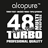 TURBO YEAST - TURBO 48 ALCO PURE High Alcohol Spirit Vodka Alcohol Home Brew by Alcotec