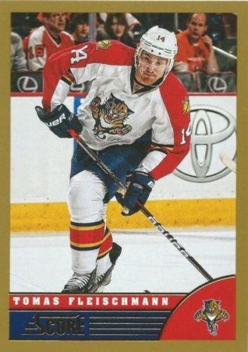 (HCW) 2013-14 Panini Score Gold #202 TOMAS FLEISCHMANN Panthers NHL (Fleischmann Box)