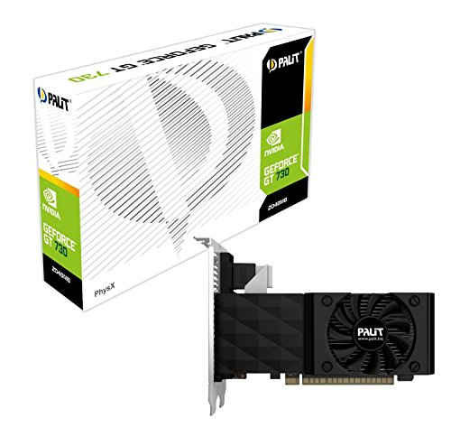 2 opinioni per Palit Scheda Grafica GeForce GT 730, 2048MB DDR3