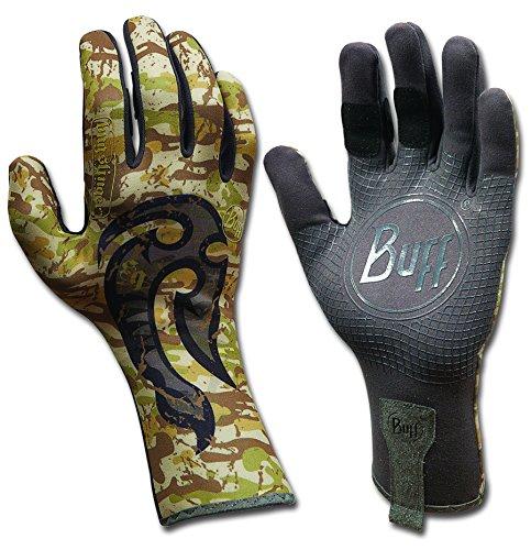 Buff Sport Series MXS 2 Fly Fishing Gloves - Bug Slinger BS Maori Hook M/L