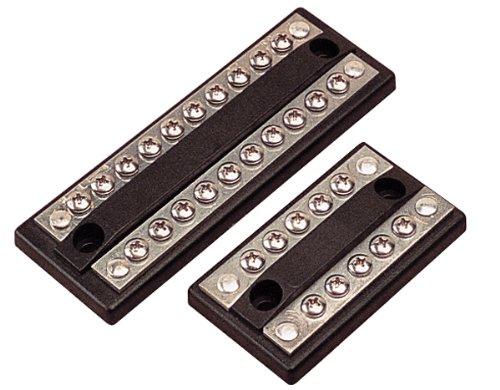 Sea Dog 426685-1 Combination Buss Bar, 10 x #8-32 terminals