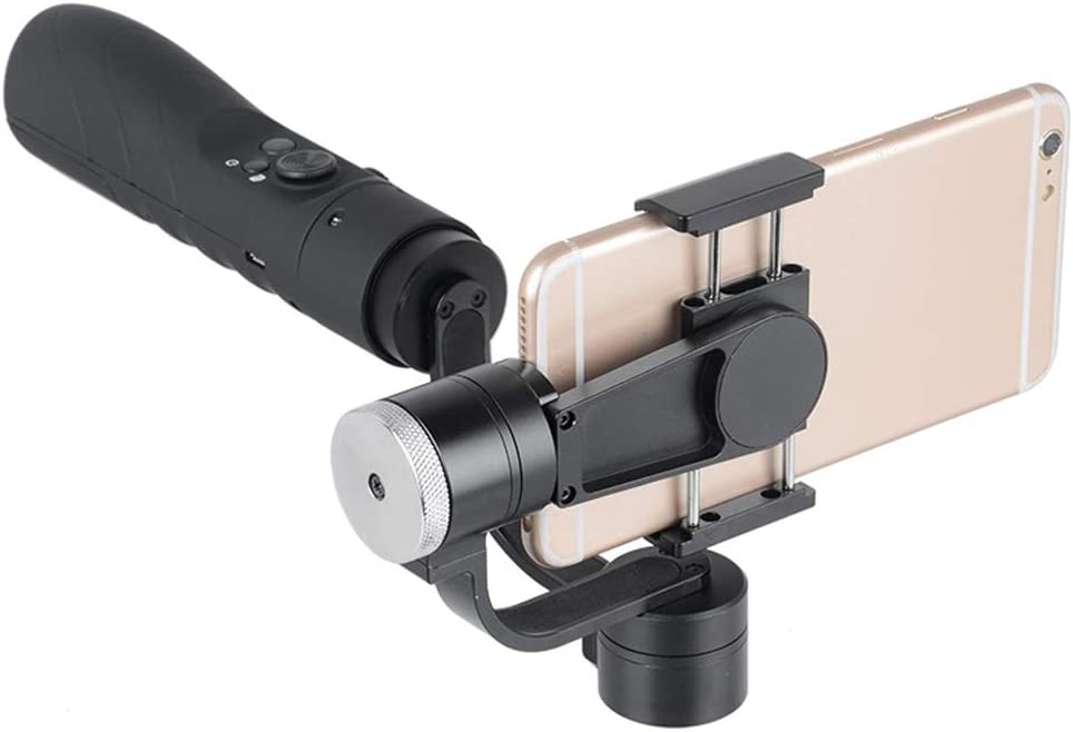 LoMe Mobile Phone Stabilizer 3 Axis Handheld Smartphone Gimbal Stabilizer with Face Tracking