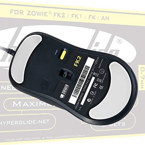 SHOPUS | Hyperglide Mouse Skates for Zowie Divina S1, Divina S2, ZA