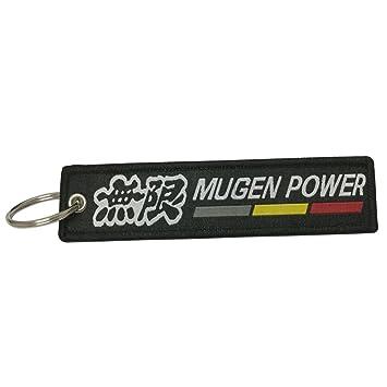 Amazon.com: Agradable Tagg 1pcs Mugen Power Etiqueta Llavero ...