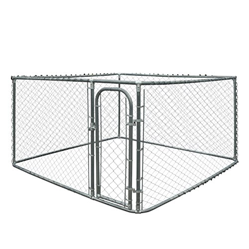 ALEKO Chain Link Dog Kennels Variation Family