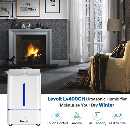 Levoit Humidifiers Vaporizer Cool Mist Air Ultrasonic Bedroom Import It All
