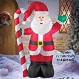 4 Ft Tall Lighted Inflatable Santa Airblown Blow Up Christmas Holiday Yard Outdoor Decoration