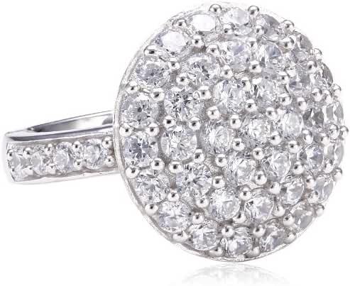 ESPRIT Women's Jewels Ring 925/1000 Sterling Silver Cubic Zirconia