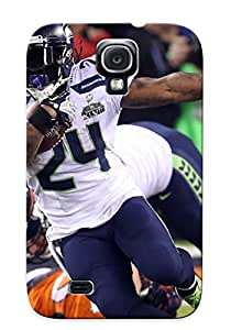 Exultantor High-quality Durability Case For Galaxy S4(seattle Seahawks Nfl Football)