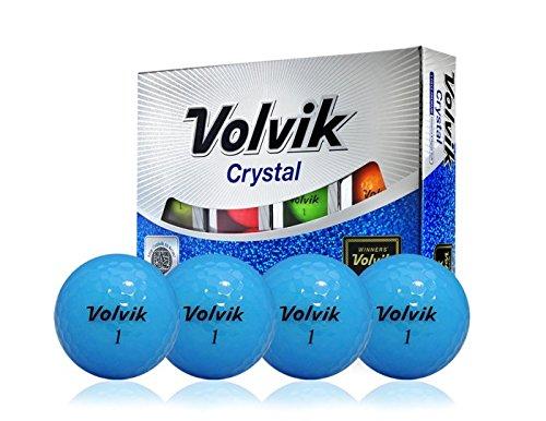 - Volvik Crystal Blue 3-Piece Premium Golf Balls