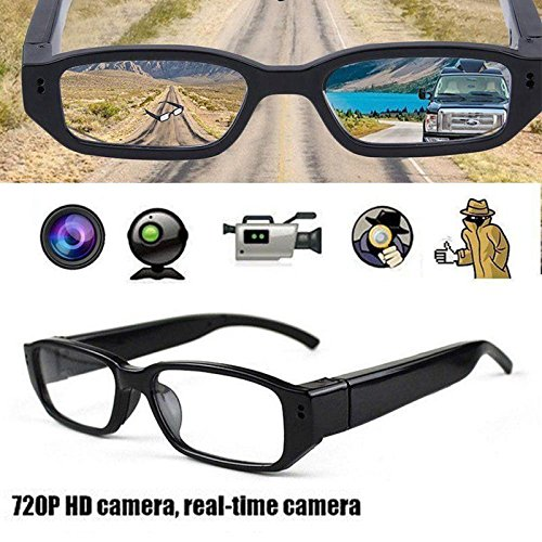 Video Cam Hot (HOT! Mini HD Spy Camera Glasses 720P Hidden Eyeglass Sunglasses Cam Eyewear DV DVR)