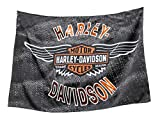 Harley-Davidson Vintage Bar & Shield Wings Estate Flag, Double Sided 17S4918 For Sale