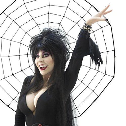Elvira Spider Web Poster Print