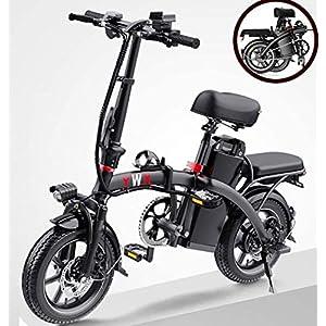 51ridg55soL. SS300 JXH Electric City Bike Biciclette, Commute Elettrico-Bici della Bicicletta con Motore 350W e 48V 8Ah Batteria al Litio…