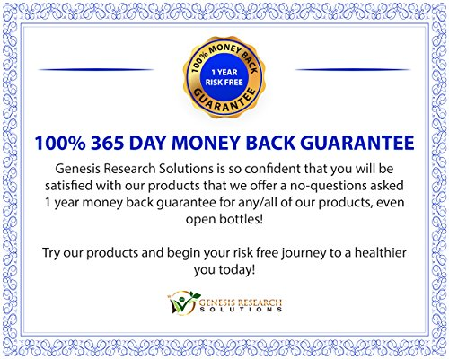 100% Pure 95% HCA Genuine Garcinia Cambogia Plus, Healthy Appetite Suppressant for Natural Weight Loss & Detox Diet. Plus Energy & Focus Booster - 100% Natural Supplement Extract. 3 Pack by Genesis Research Solutions (Image #6)