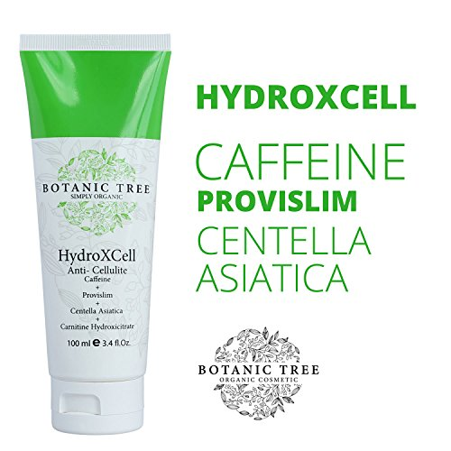 HydroXCell Anti Cellulite-Decrease Cellulite in 93% of Customers after 2 months-Proven Results-Cream 4x Action Defense w/ Provilism, Caffeine, Centella Asiatica and Carnitine.