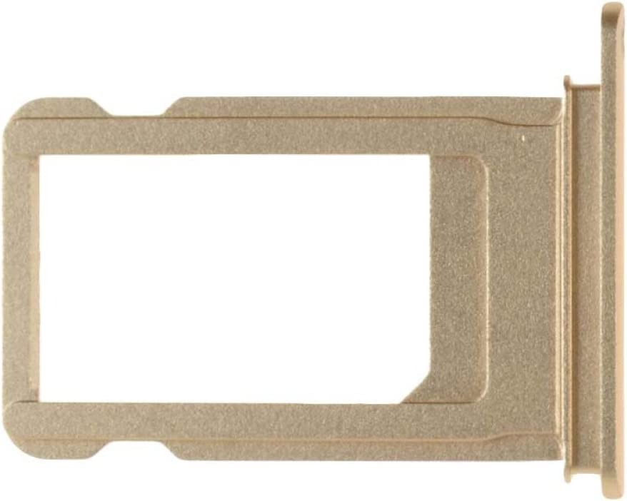 CDMA /& GSM SIM Card Holder for Apple iPhone 7 Gold with Glue Card
