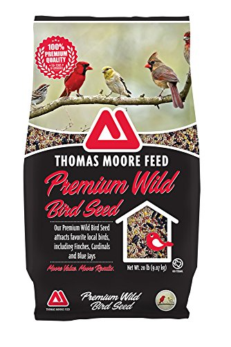 lity Wild Bird Seed , 20 lb (Feed Wild Finches)