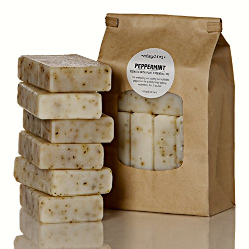 SIMPLICI-Peppermint-Bar-Soap-Value-Bag-6-Bars
