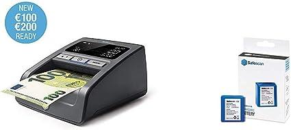 Verificatore banonote false per la verifica al 100/% delle contraffazioni delle banconote Safescan 155-S Black