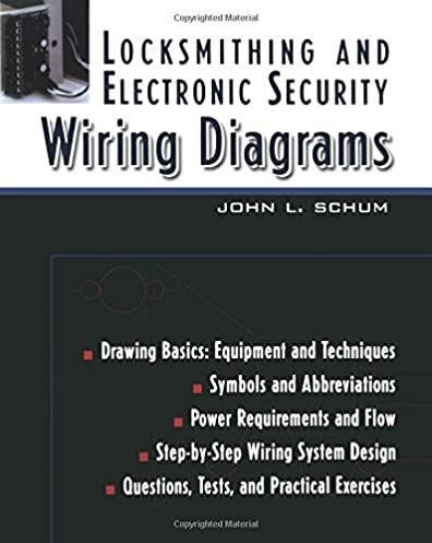 locksmithing and electronic security wiring diagrams john l schum bulldog security wiring diagrams locksmithing and electronic security wiring diagrams 1st edition