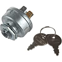 MIDIYA Genuine Parts Tractor Ignition Starter Switch with 3 Position 5 Connection Termials 2 Keys for Toro Craftsman Lawn Mower Parts Sears MTD Craftsman John Deere Toro Riding Lawn Mower STD365402