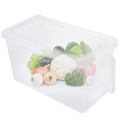 Yosoo Caja de plástico para el congelador/frigorífico, para conservar
