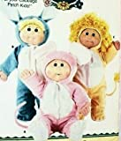 Butterick Pattern 3565 Cabbage Patch Kids Animal Costumes: Lion, Rabbit, Mouse