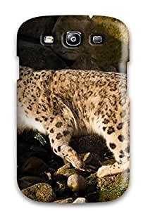 Snap-on Case Designed For Galaxy S3- Snow Leopard