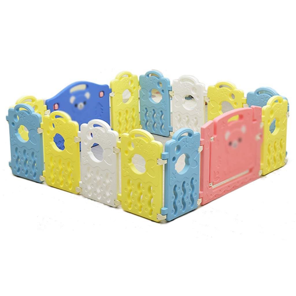 Zhao Kind-Antifallzaun, Innenbaby-Kriechen, Das Lernt, schützenden Zaun-Haushalts-Puzzlespiel-Spielzeug-Raum-Isolierungs-Zaun 39-80CM zu Gehen