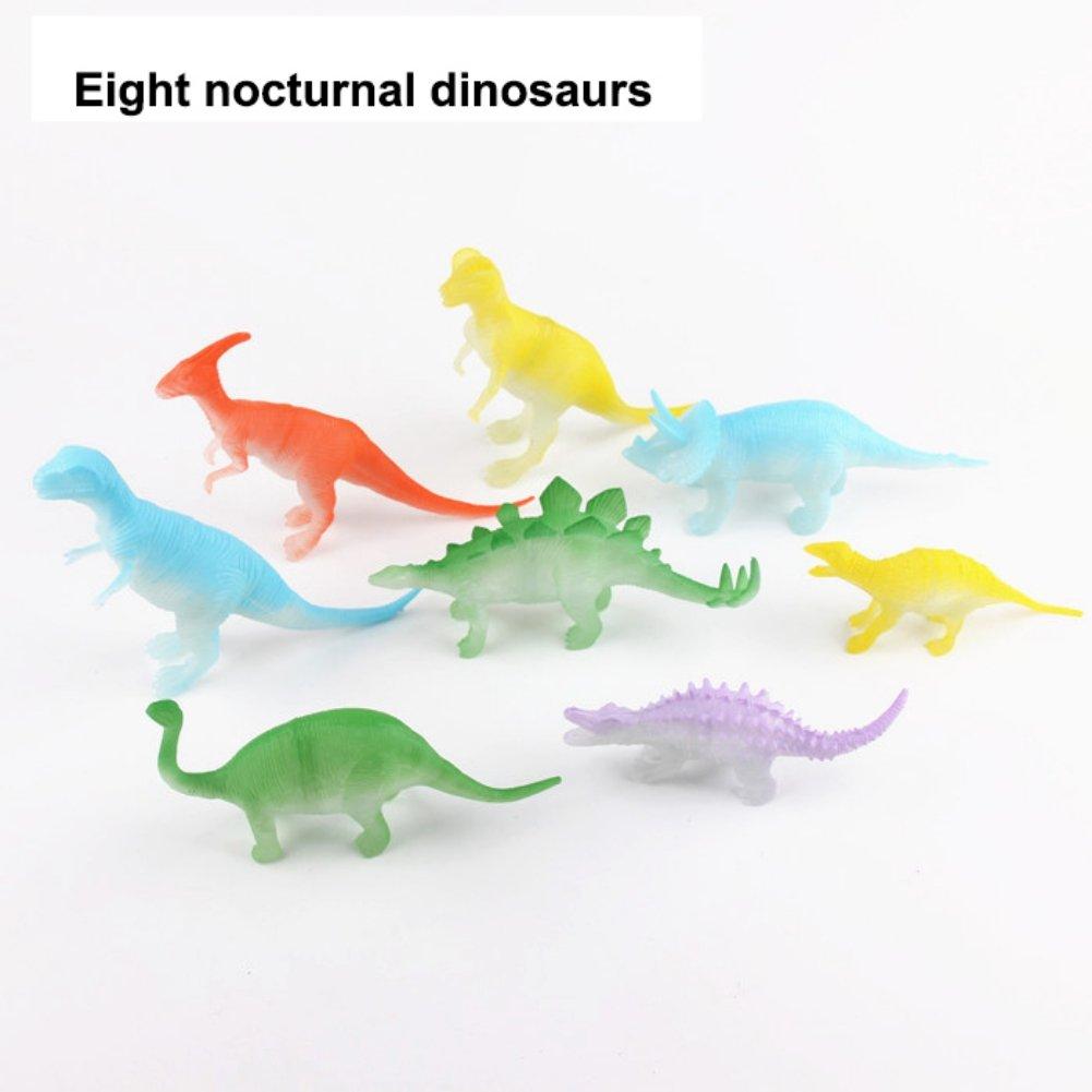 Nachtlicht nachtleuchtende dinosaurier figur geschenk spielzeug für kinderTP~ YR