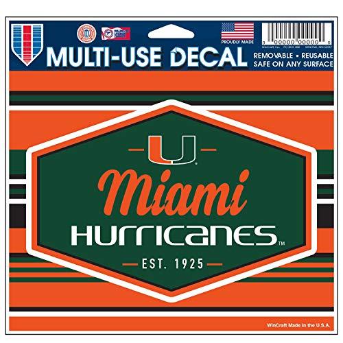 - Wincraft Miami Hurricanes Official NCAA 4.5