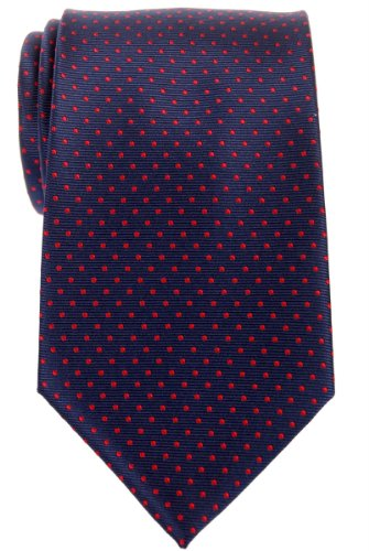 Modern Navy Dots Microfiber Mini Retreez With Various Blue Tie Colors Dots Red Men's Polka Woven fqdvvac