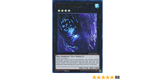 3x Abyss Dweller DUDE-EN016 Ultra Rare 1st Edition Near Mint