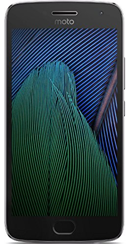 Moto G Plus (5th Generation) – Lunar Gray – 32 GB – Unlocked