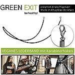 Green-Exit-3er-Pack-Mundschutz-Maske-Waschbar-aus-Baumwolle-mit-Umhngeband-Wiederverwendbar-Mund-Nasenschutz-zum-Umhngen-mit-Band-in-2X-Schwarz-1x-Grau