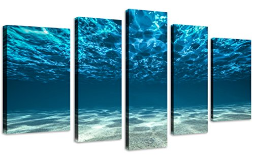 QICAI Underwater Paintings Stretched Decoration product image