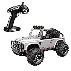 SZJJX RC Cars, 45KMH High Speed Racing Remote Control Monster Trucks 1/22 Scale 4WD 2.4Ghz Radio Controlled Off-Road Vehicle Rock Crawler Fast Electric Desert Buggy SJ1511