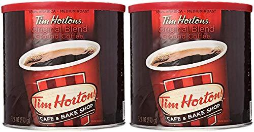 Tim Hortons HBRKMMCX 100% Arabica Medium Roast Original Blend Ground Coffee, 32.8 Ounce, Pack of 2 by Tim Hortons (Image #5)