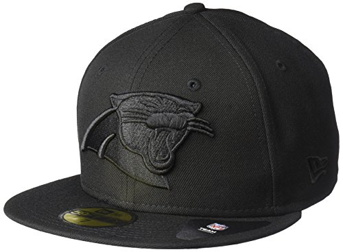 New Era NFL Men's Black On Black 59Fifty Fitted Cap – DiZiSports Store