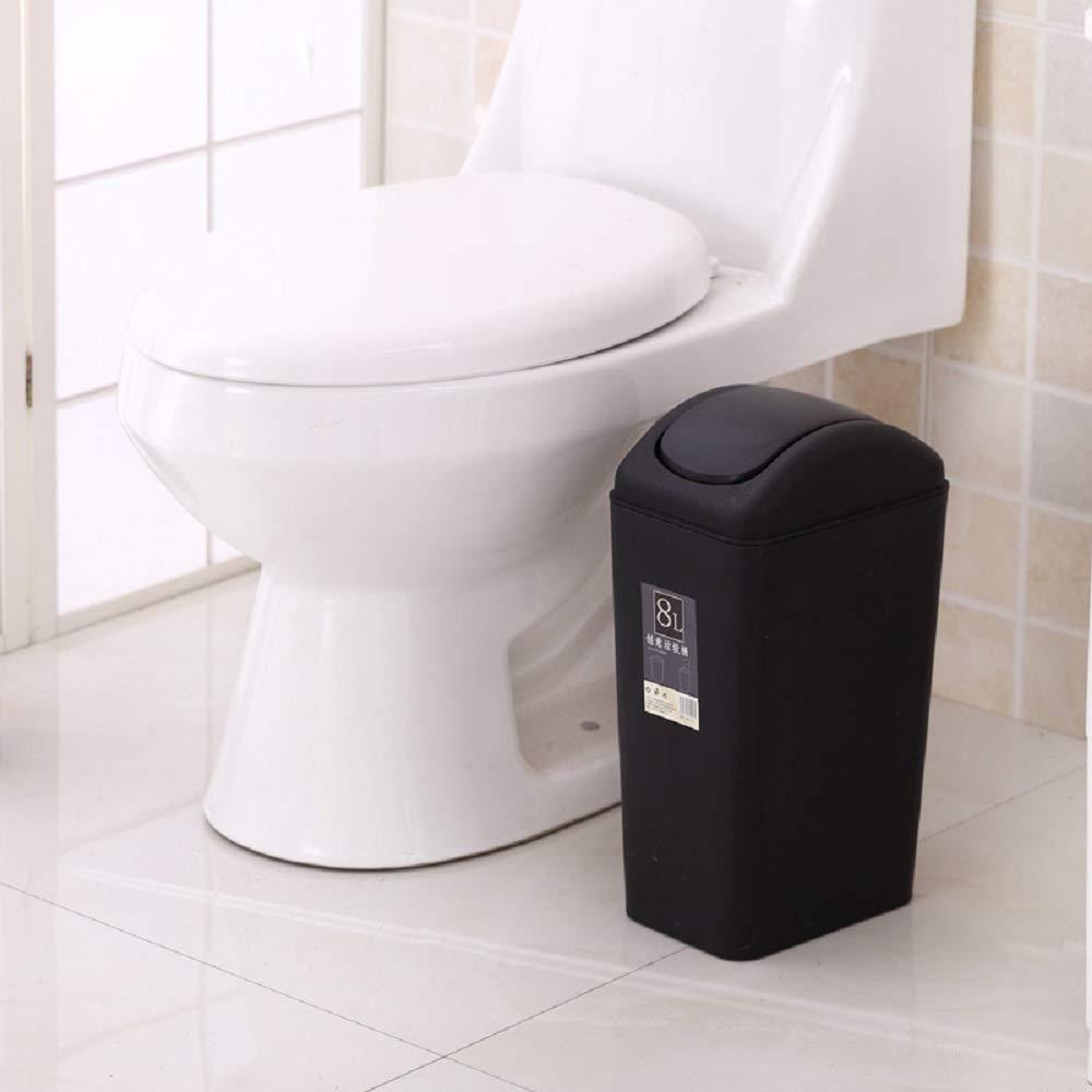 Ayanx Compartimiento de Papel con la Manta Sacudarida para de el Cuarto de para Baño, Sala de Estar, Tocador-Negro, marrón, Azul, Color de Rosa,Beige,8L 12e07a