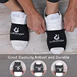 LAMANTOP Socks for Dancing on Smooth Floors-Over