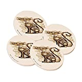 Sandstone Drink Coaster from Space Case by New Vibe